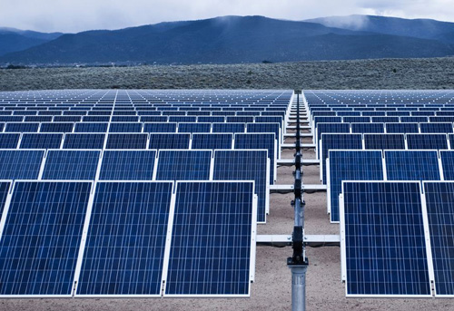 vesat solar large scale solar power plants